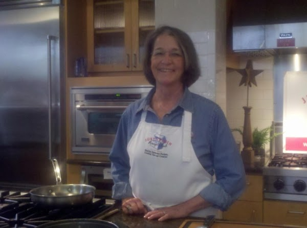 Janet Tharpe, in the Viking Institute of Culinary Arts