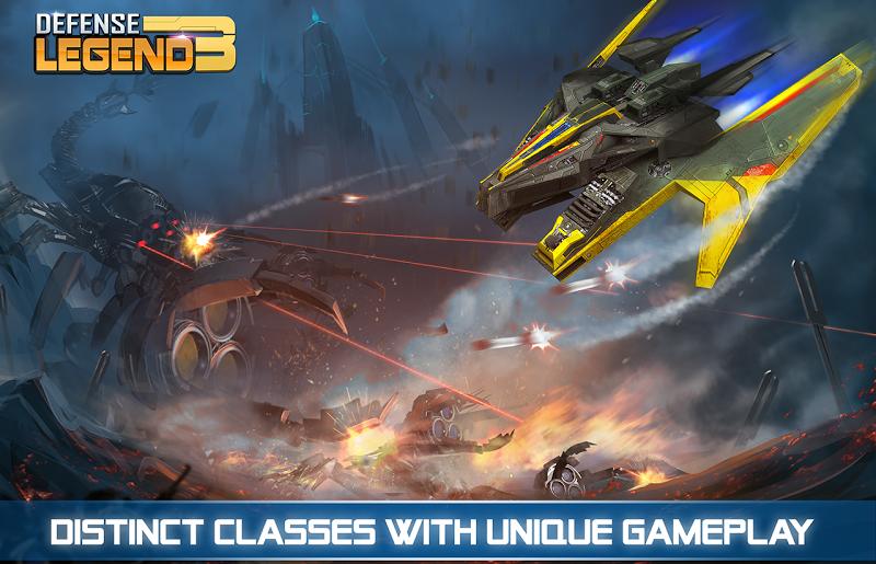 Defense Legend 3: Future War Screenshot 2