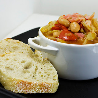 Savoy and Cannellini Stew.