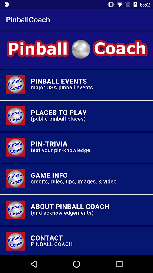 Pinball Coach- screenshot