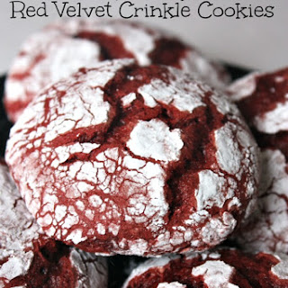 Easy Red Velvet Crinkle Cookies Recipe Perfect for Valentines Day
