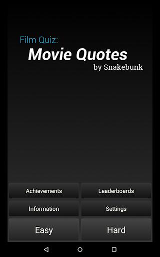 Film Quiz: Movie Quotes