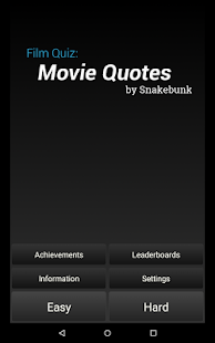 Film Quiz: Movie Quotes- screenshot thumbnail
