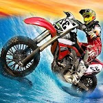 Surfing Dirt Bike - Wave Rider Icon