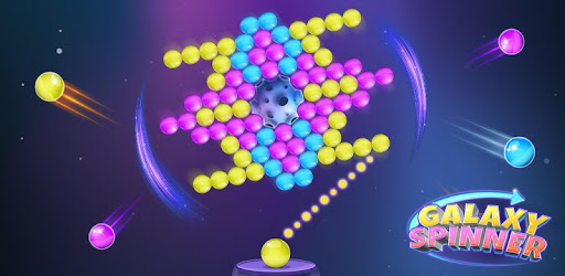 Action-packed bubble pop game that is out of this world! Spin the board & pop!