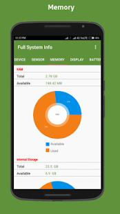 Full system info - náhled