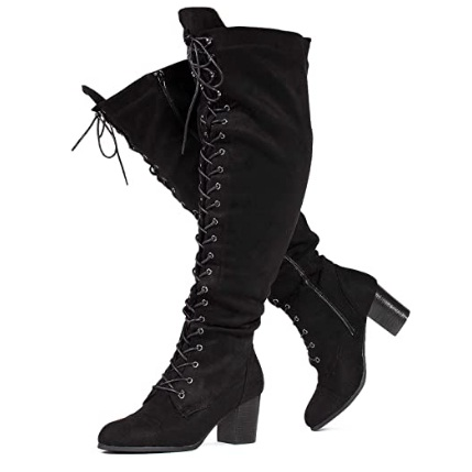 RF ROOM OF FASHION Women's Wide Calf Boots