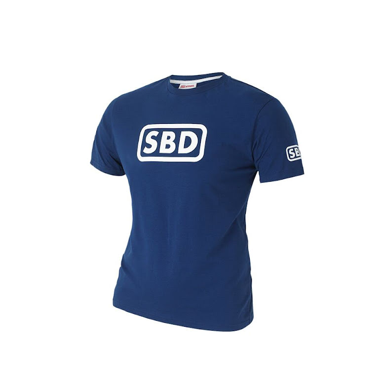 SBD T-Shirt Ladies, Blue/White