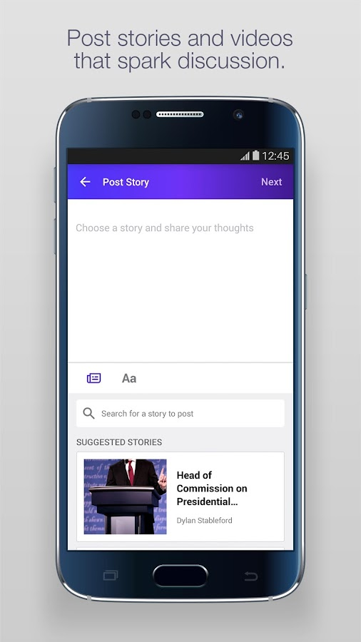 Screenshots of Yahoo - News, Sports & More for iPhone