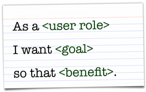 user story definition