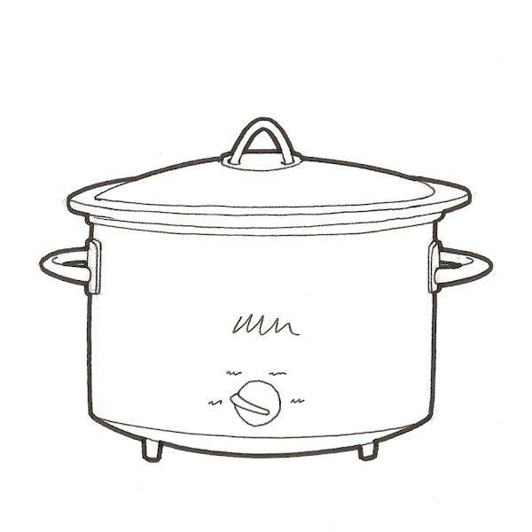 Remove from oven; place in slow-cooker base & cover with lid. Slow cook, on...