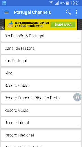 Portugal TV Channels