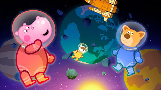 Space for kids. Adventure game android2mod screenshots 9