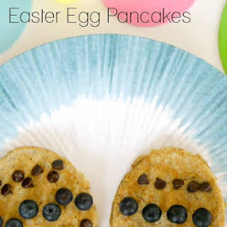 Low Carb Easter Egg Pancakes.