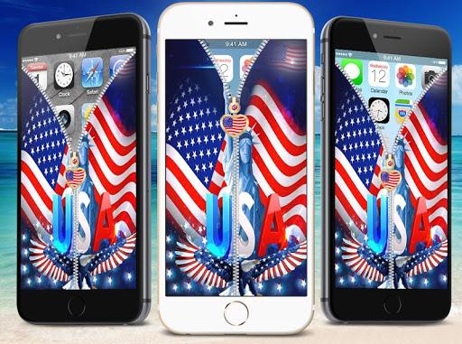 玩免費娛樂APP|下載美国国旗屏幕锁定 app不用錢|硬是要APP