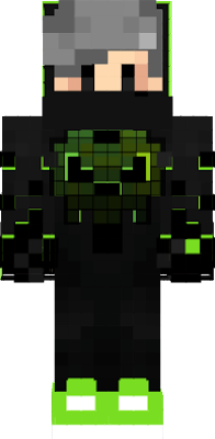 green ninja skin