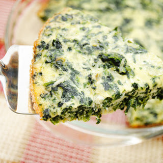 Crustless Quinoa and Kale Quiche