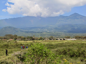 Photo: Momella Lodge and Mount Meru