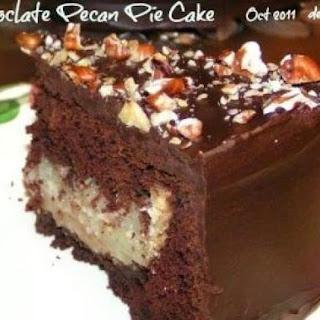 Chocolate Pecan Pie Cake Recipes