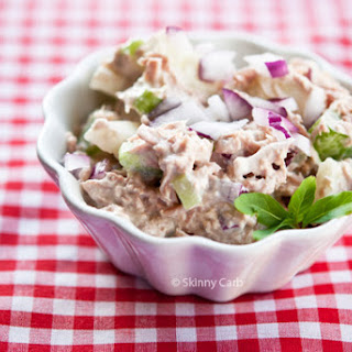 Low Carb Tuna Vegetable Salad