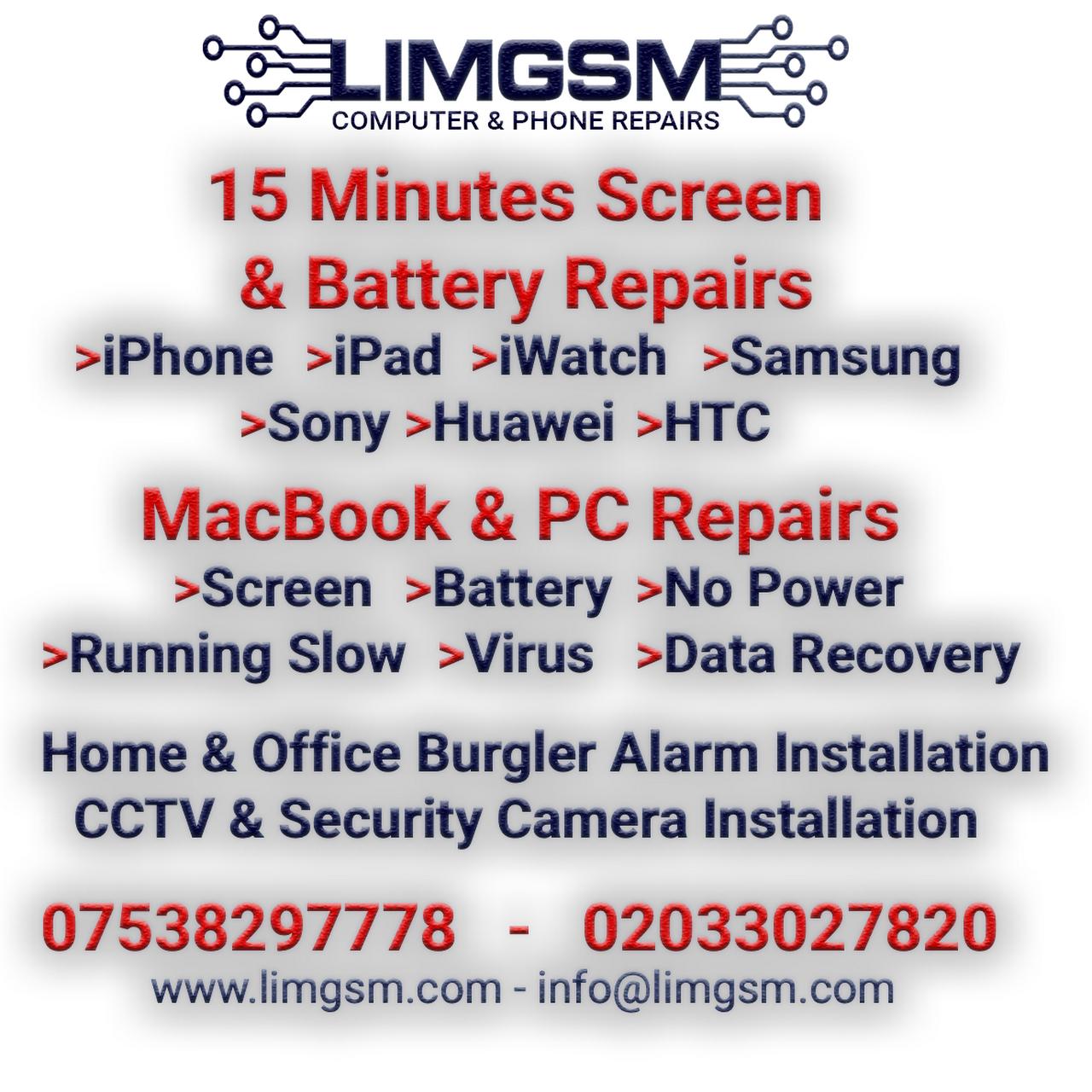 Limgsm Computer & Phone Repair - Computer & Phone Repair Service