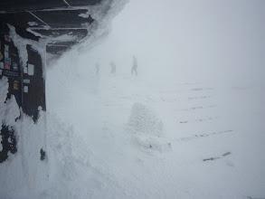 Photo: zimowa zawierucha!