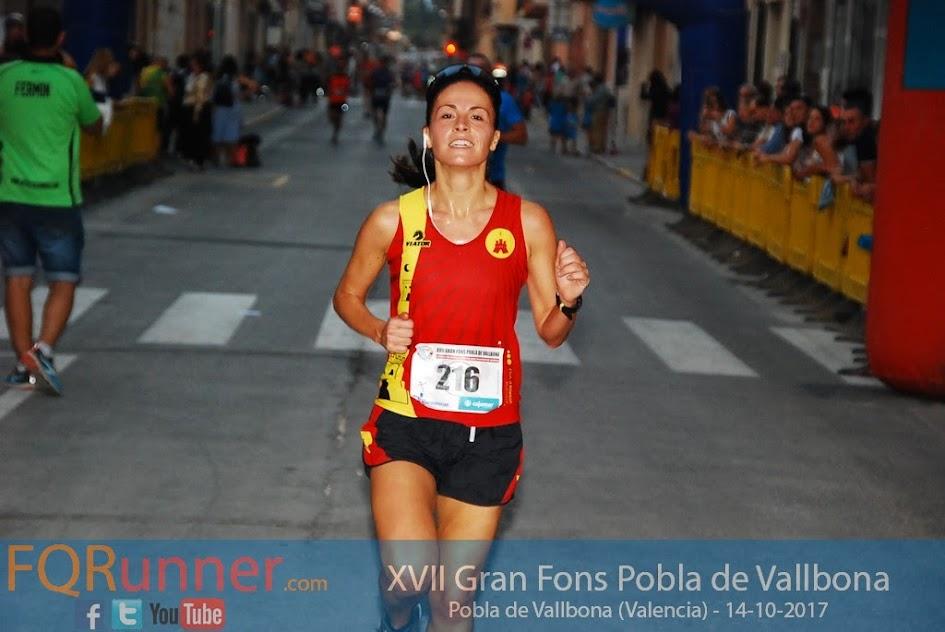 Tercera clasificada XVII Gran Fons Pobla de Vallbona 2017