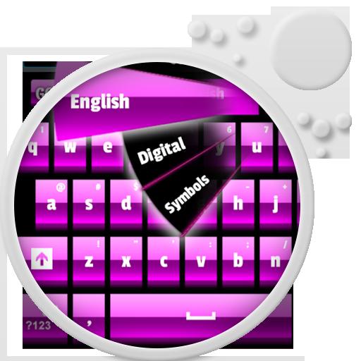 ピンクのキーボード 個人化 App LOGO-APP試玩