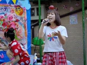 Photo: 歌唱中