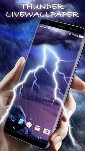 Thunder Storm Live Wallpaper - náhled