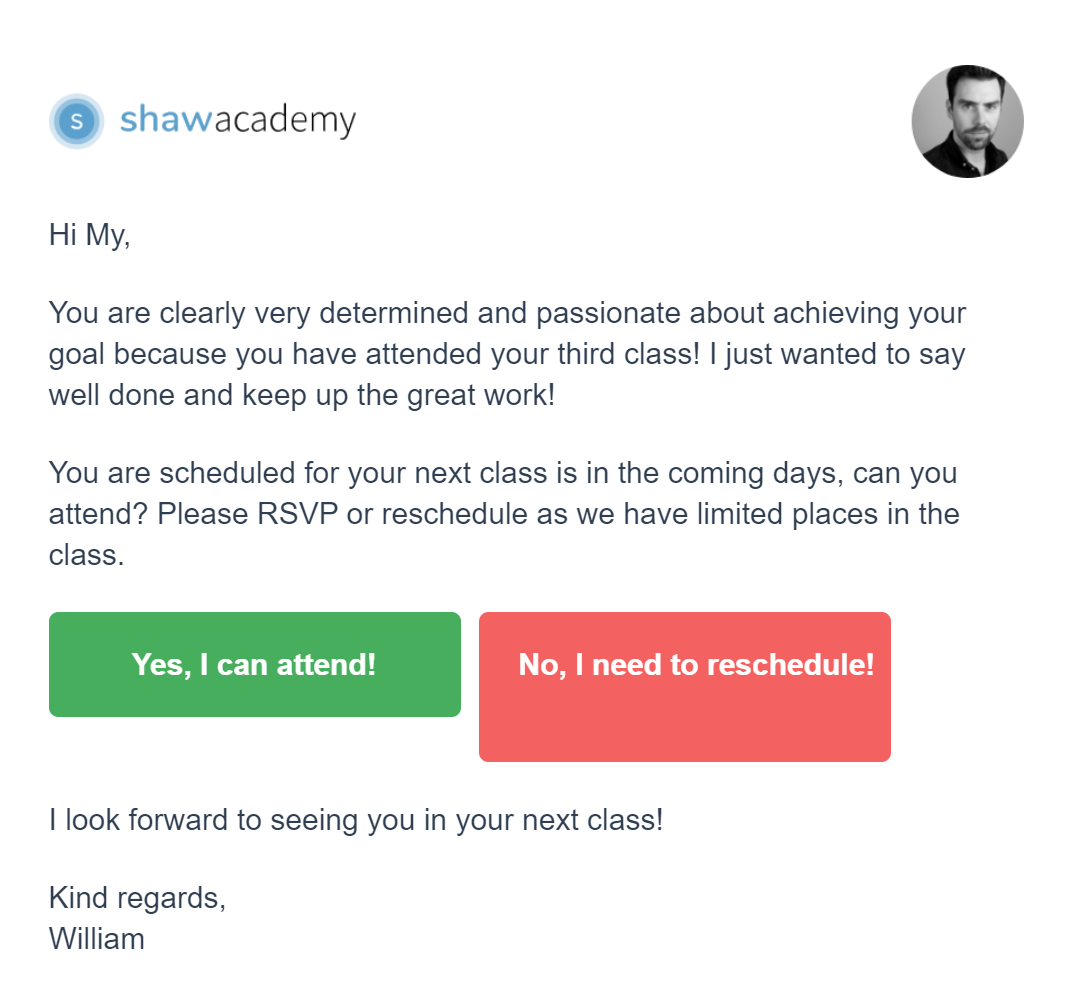 shawacademy email rsvp