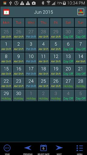 Work Roster 1.011 screenshots 9