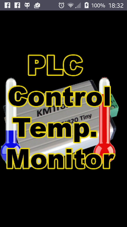 Plc Temp Monitor: captura de tela