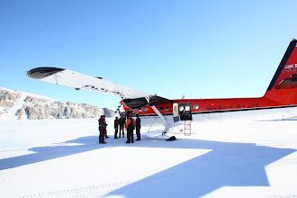 Photo: Landed at Terra Nova Bay for fuel