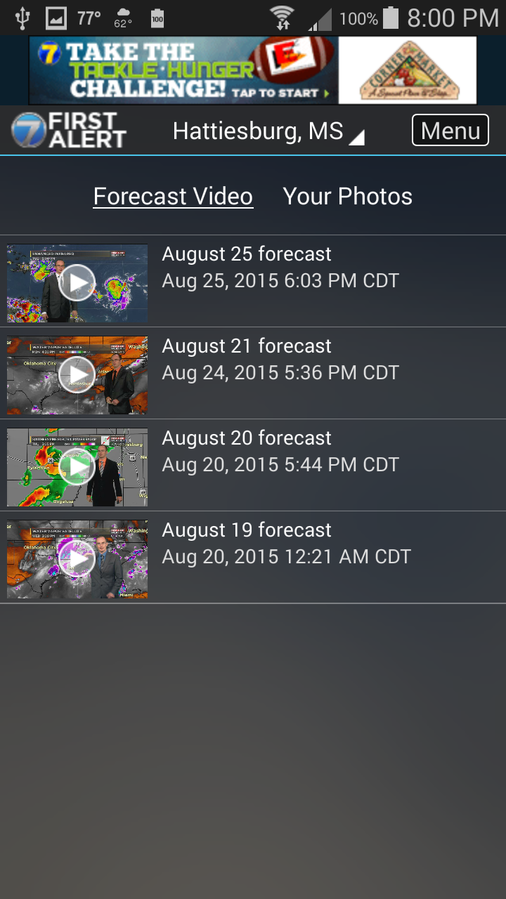 WDAM 7 Hattiesburg Weather (Android) reviews at Android
