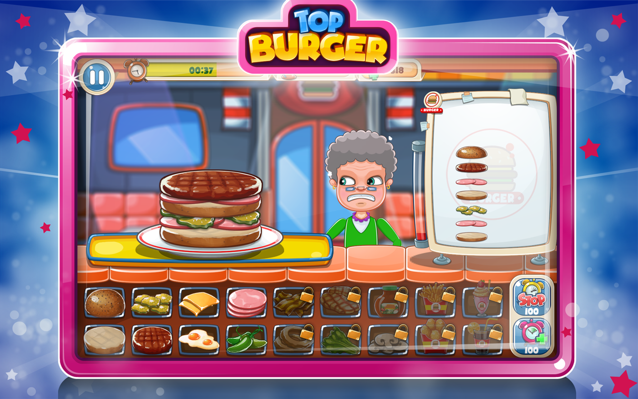 Image result for Top Burger Chef: Cooking Story