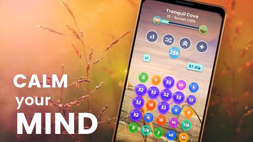 Code Triche Zen Connect: Match Colours, Numbers And Bubbles APK MOD screenshots 3