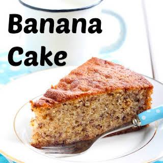 Banana Cake Without Baking Soda Recipes.