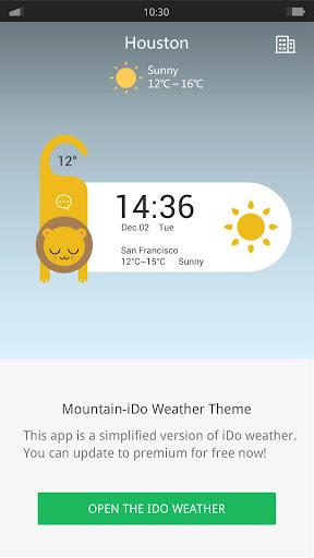 Animal-iDO Weather widget