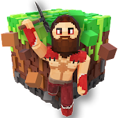 PrimalCraft 3D: Cubes & Block Build Spiele (Game) icon