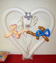 Photo: Wedding shower table decoration