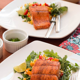 Salmon with Lime, Cumin, & Paprika