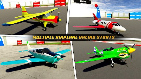 Airplane Stunts 3D: Extreme City GT Racing Plane 5