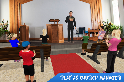 Virtual Father Church Manager apkmr screenshots 1