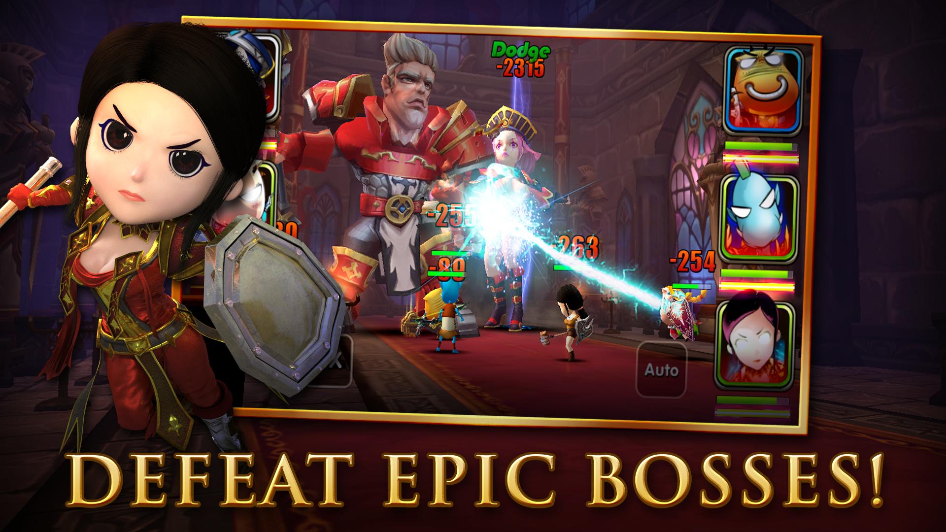 Rush of Heroes screenshot #2