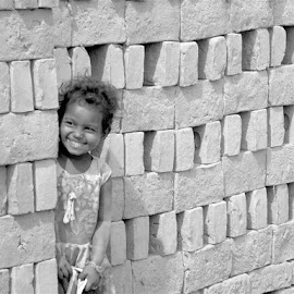 Tuki by Eashani Sengupta - Black & White Portraits & People