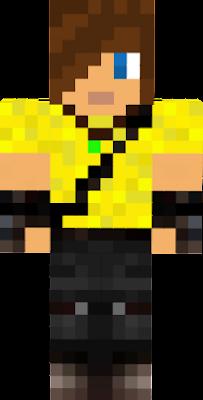 LemonMan with brown hair