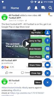 Lite for using Facebook & Messenger - náhled