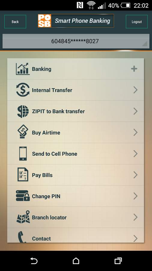 POSB Mobile Banking- screenshot