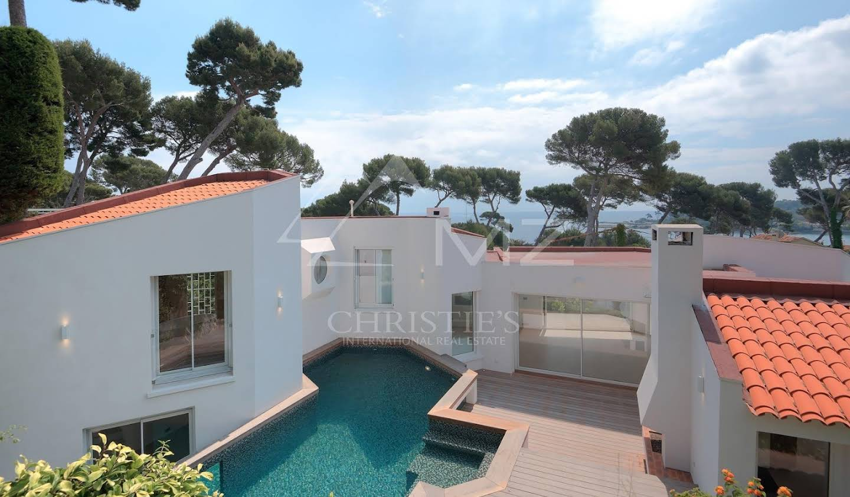 Villa avec piscine et terrasse Cap d'Antibes
